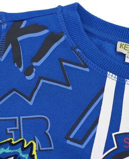 Niebieska bluza z nadrukiem 6-14 lat