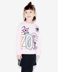 Różowa bluza Super Kenzo 3-6 lat