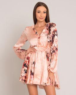 Sukienka z jedwabiu Samanta