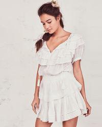 Biała sukienka Liv
