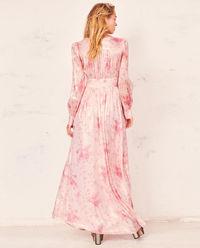 Jedwabna sukienka maxi Cyrena