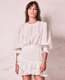 Biała sukienka Lorelei