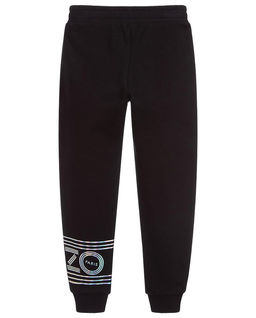 Czarne spodnie dresowe 3-14 lat