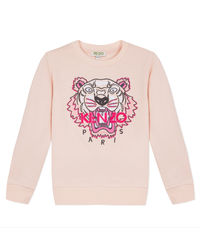 Różowa bluza  z logo 3-14 lat