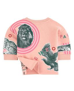 Różowa bluza 0-4 lata
