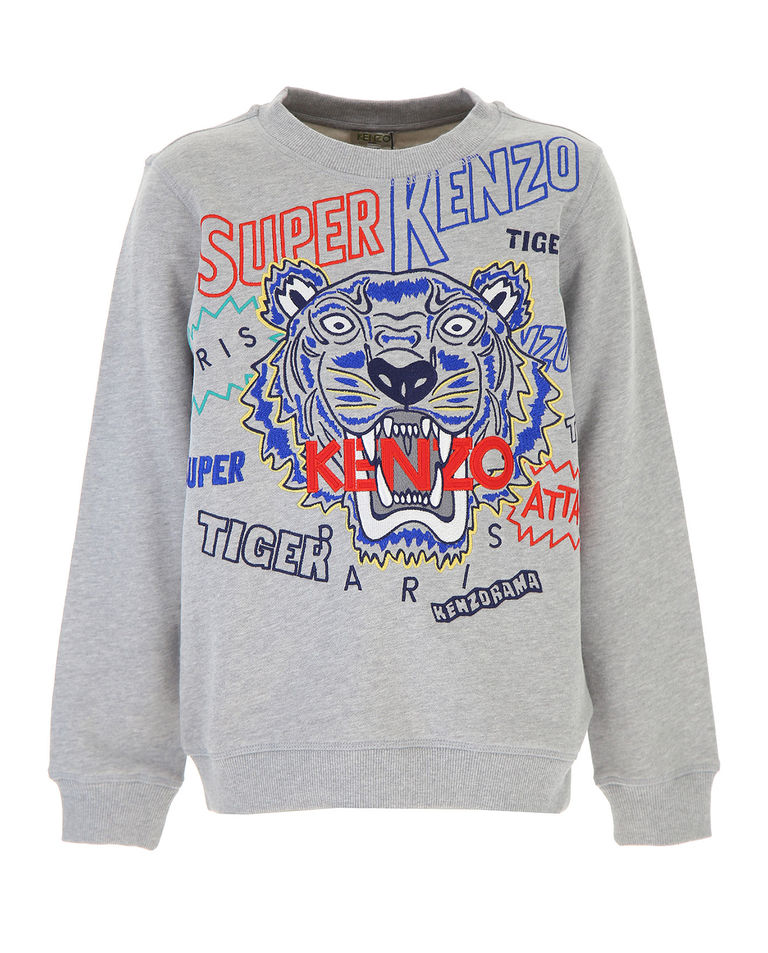 Szara bluza Super Kenzo 4-14 lat