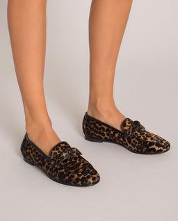 Loafery s levhartím vzorem Becky