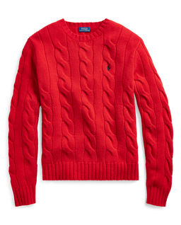 Sweter z kaszmirem Relaxed fit