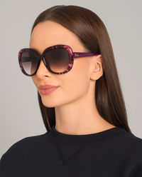 Okulary Tie Dye