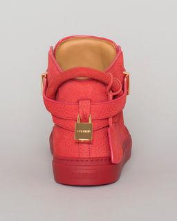 Czerwone sneakersy 100MM