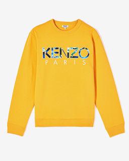 Bluza z logo Kenzo World