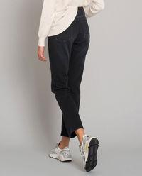 Czarne spodnie jeansowe