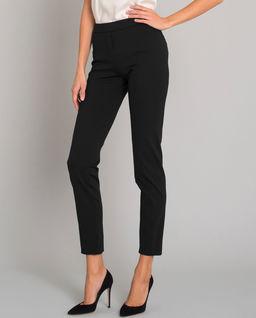 Biznesowe modelujące spodnie w kant