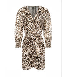 Sukienka z motywem zwierzęcym Cachaca