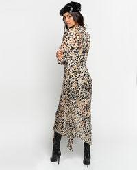 Sukienka z wiązaniem Alkermes