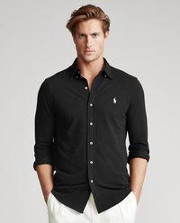 Czarna koszula Mesh