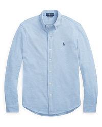 Niebieska koszula Mesh