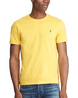 Żółta koszulka Custom Slim Fit