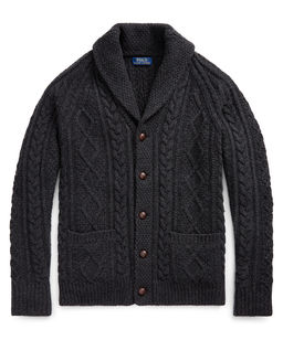 Wełniany sweter Aran