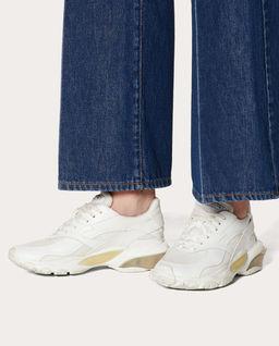 Białe sneakersy Bounce
