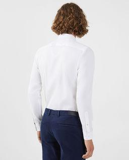 Biała koszula z logo