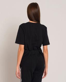 Czarny t-shirt Zella