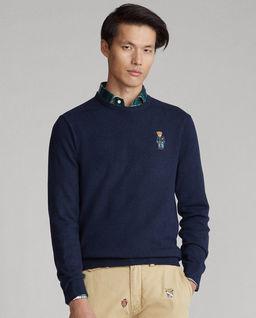 Wełniany sweter z misiem