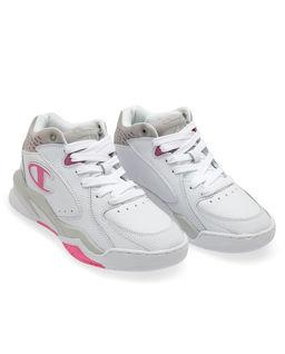 Białe sneakersy Zone Mid