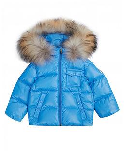 Niebieska kurtka pikowana Enfant 0-3 lata