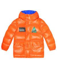 Pomarańczowa kurtka puchowa Ubaye 6-14 lat