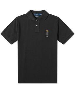 Koszulka polo z misiem