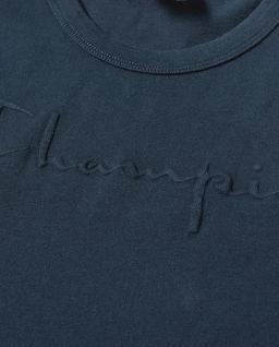 Granatowa koszulka z logo
