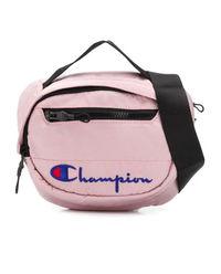 Różowa torba na pas