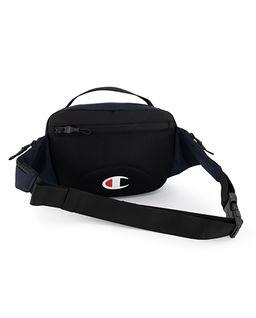 Granatowa torba na pas