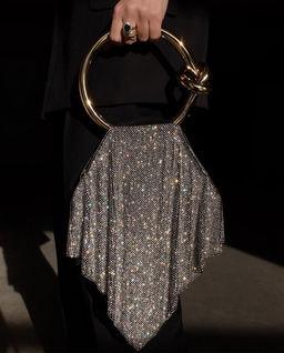 Torebka z kryształami Casper Crystal