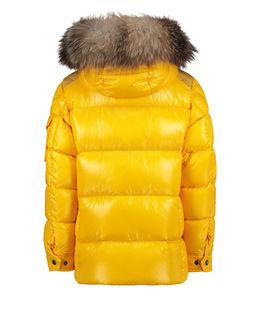 Żółta kurtka puchowa 4-14 lat