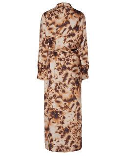 Satynowa sukienka Bisso