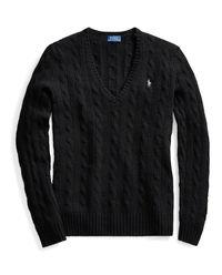 Czarny sweter z wełny