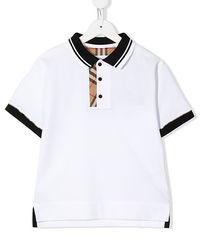 Biała koszulka polo 3-14 lat