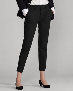 Czarne spodnie Slim fit