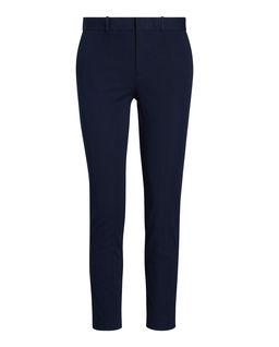 Granatowe spodnie Slim fit