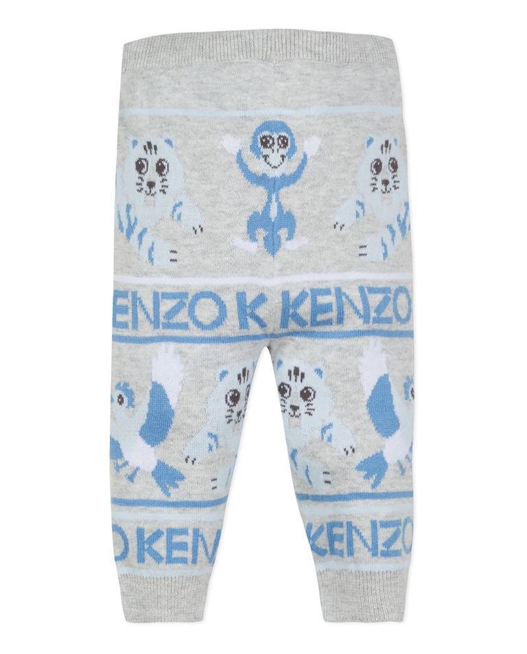 Szare spodnie z bawełny 0-3 lata