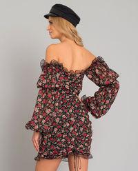 Sukienka w róże Rosi