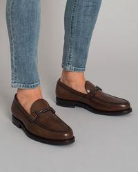 Loafery ze skóry