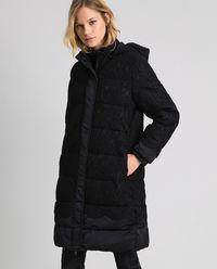 Pikowana kurtka z koronką