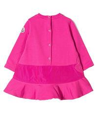 Różowa sukienka dresowa 0-2 lata