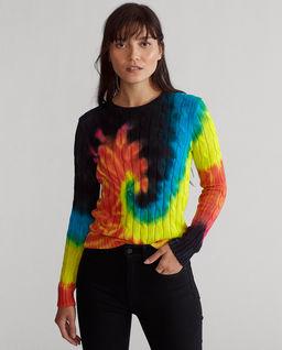 Kolorowy sweter z bawełny