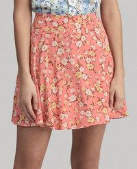 Spódnica mini w kwiaty