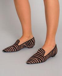 Loafery w zebrę