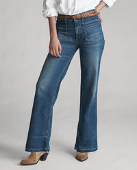 Jeansy Flare Stretch